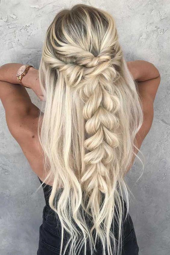 Карамельный блонд цвет волос (14)