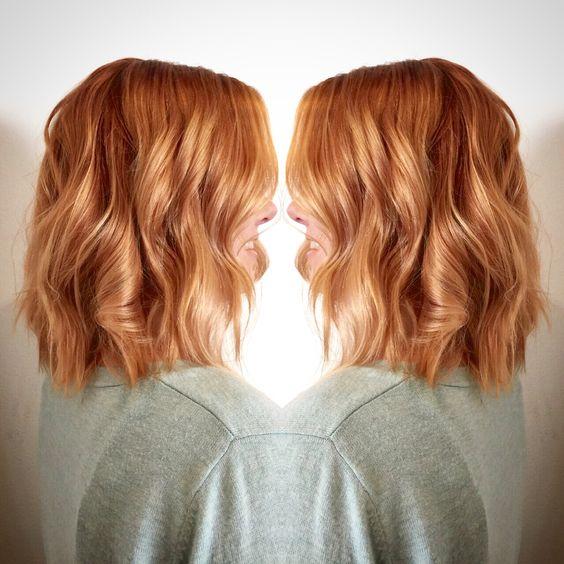 Медово-карамельный цвет волос (2)