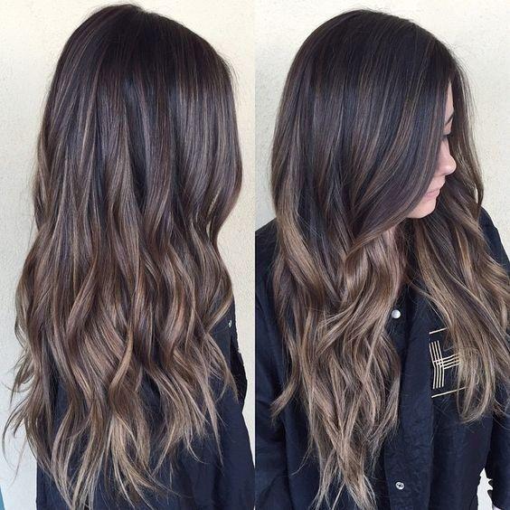 Натуральный темный цвет волос (4)