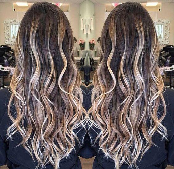 Стрижки на длинные волосы осень 2018-2019 (4)