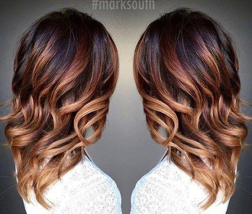 Медово-карамельный цвет волос (24)