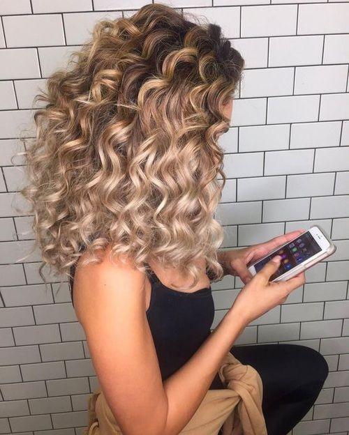 Окрашивание длинных волос 2018 (58)