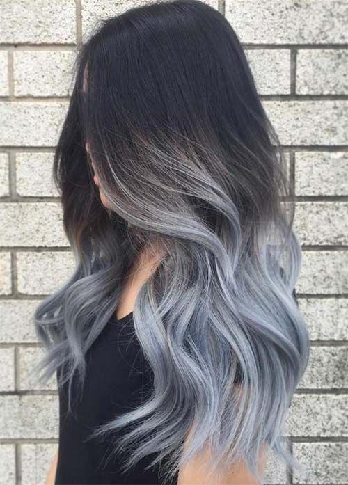 Седой цвет волос (34)