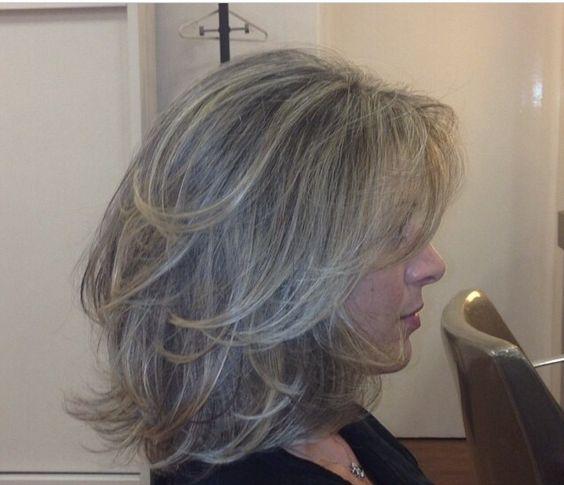 Седой цвет волос (55)