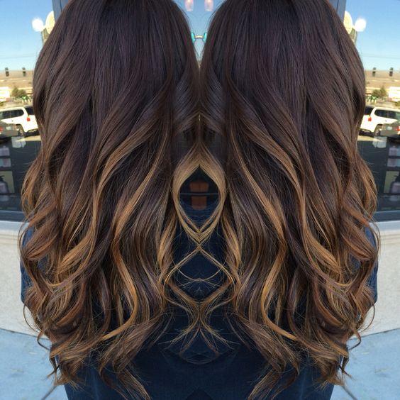 Цвет волос мелирование фото (74)