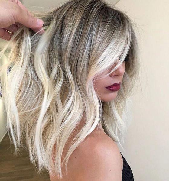 Цвет волос мелирование фото (43)