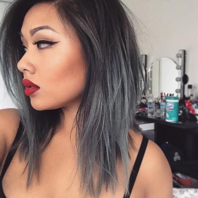 Натуральный пепельный цвет волос (25)