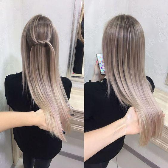 Натуральный пепельный цвет волос (10)