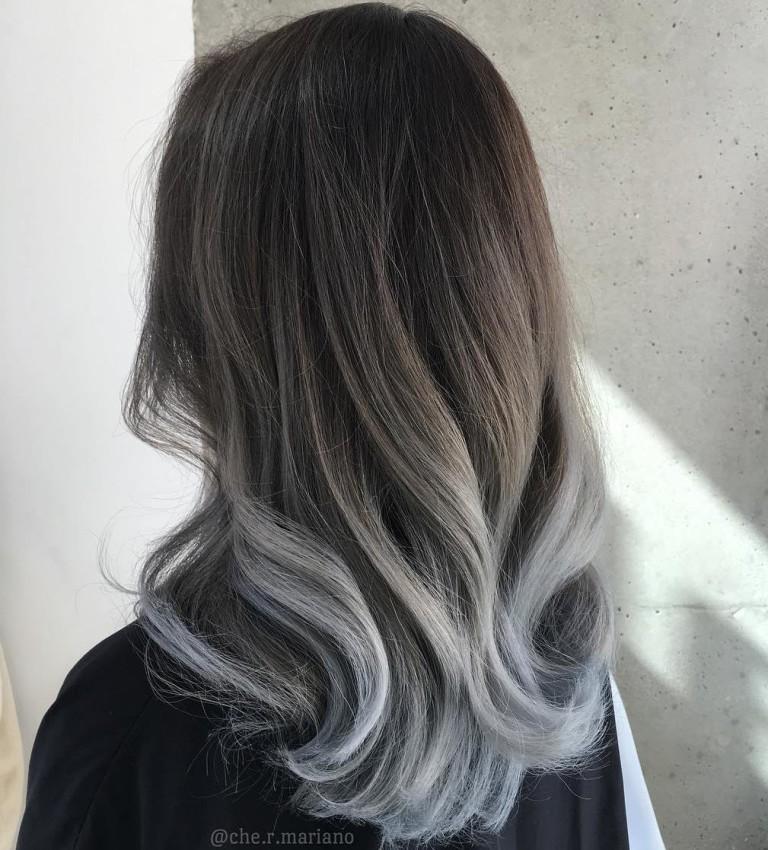 Седой цвет волос (30)