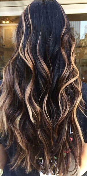 Цвет волос мелирование фото (72)