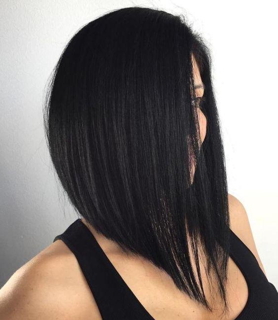 Натуральный черный цвет волос (23)