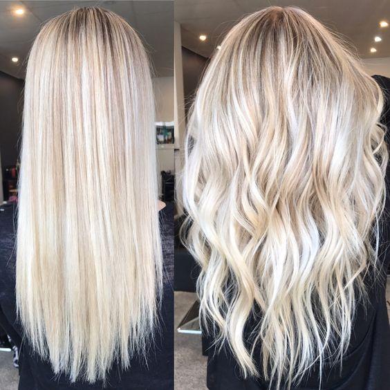 Окрашивание длинных волос 2018 (81)