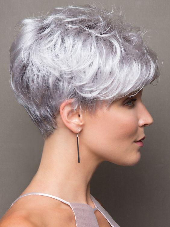 Седой цвет волос (50)