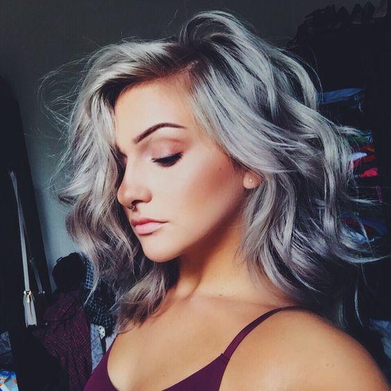 Седой цвет волос (29)