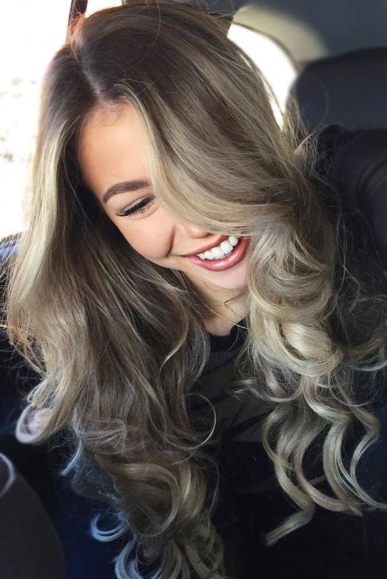 Цвет волос мелирование фото (41)