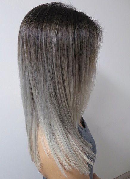 Натуральный пепельный цвет волос (27)