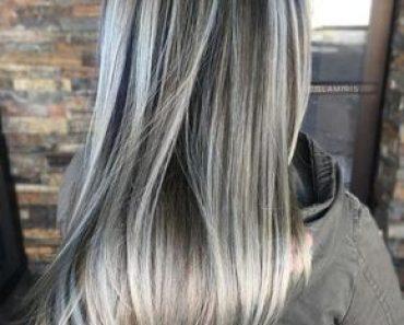 Седой цвет волос (8)