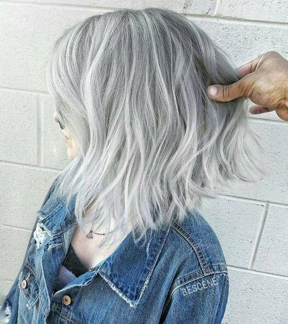 Седой цвет волос (49)