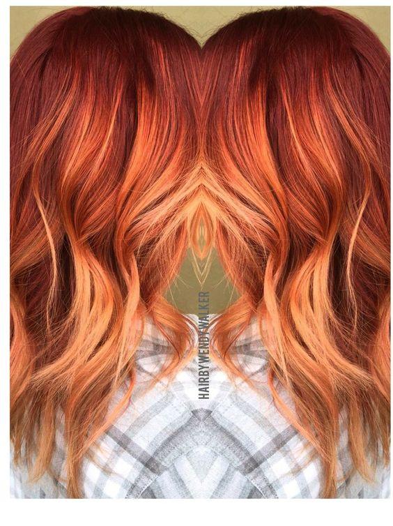 Натуральный рыжий цвет волос (19)