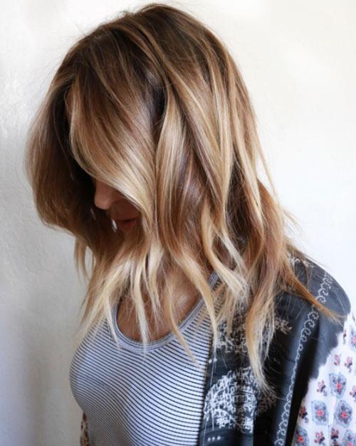 Цвет волос мелирование фото (22)