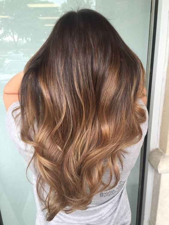 Цвет волос мелирование фото (56)