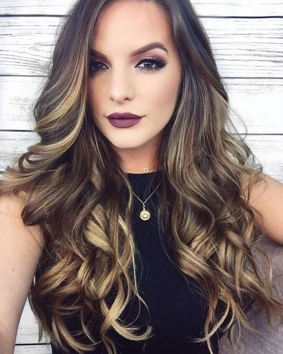 Цвет волос мелирование фото (55)