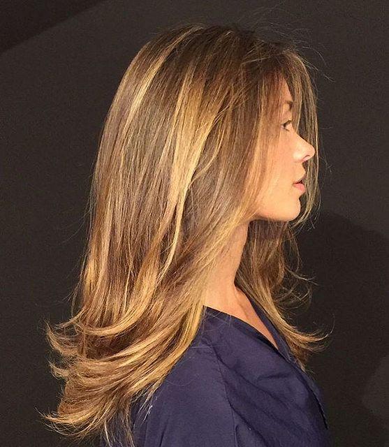 Цвет волос мелирование фото (70)