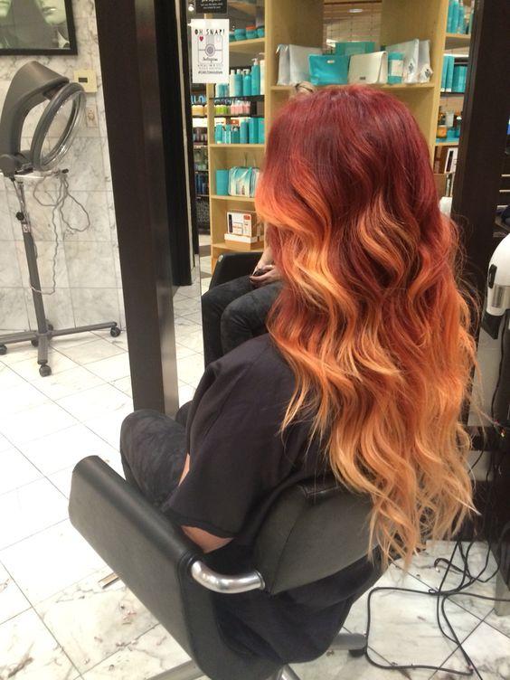 Натуральный рыжий цвет волос (18)
