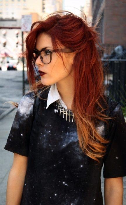 Натуральный рыжий цвет волос (17)