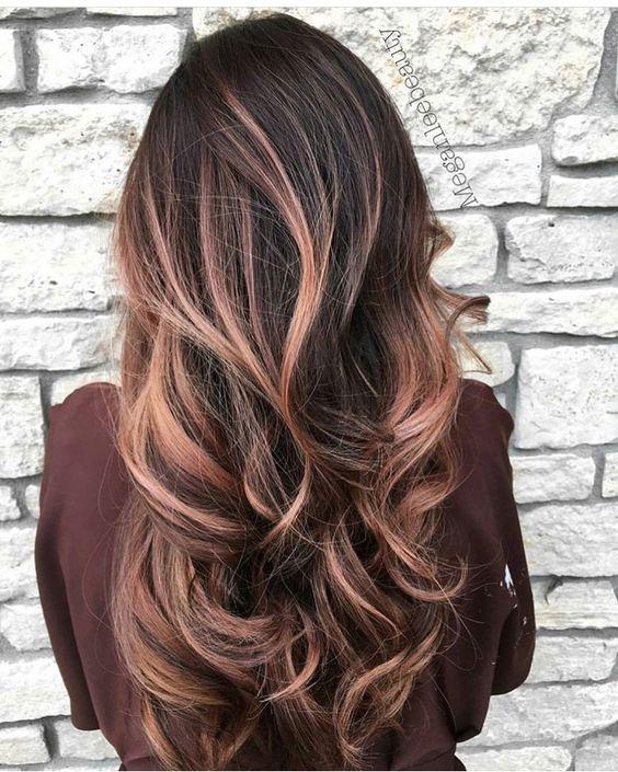 Цвет волос мелирование фото (57)