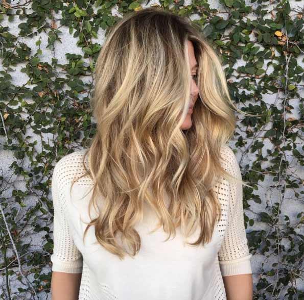 Цвет волос мелирование фото (15)