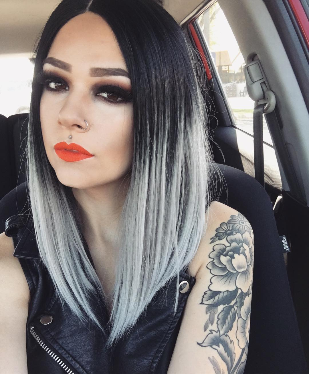 Седой цвет волос (27)