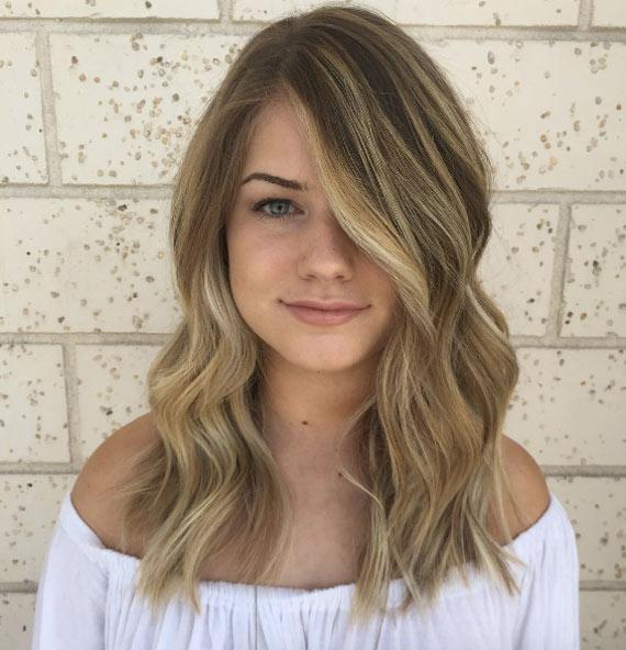 Цвет волос мелирование фото (12)