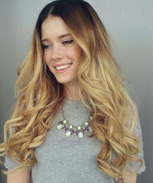 Цвет волос мелирование фото (11)