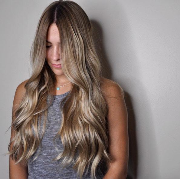 Цвет волос мелирование фото (10)