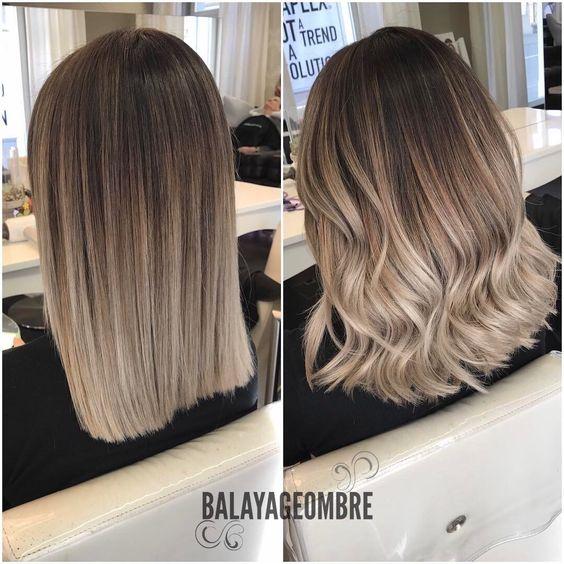 Цвет волос мелирование фото (36)