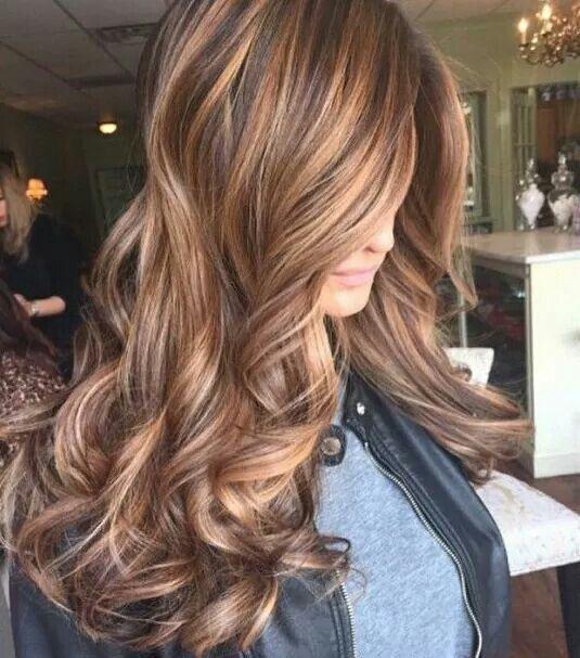 Цвет волос мелирование фото (67)