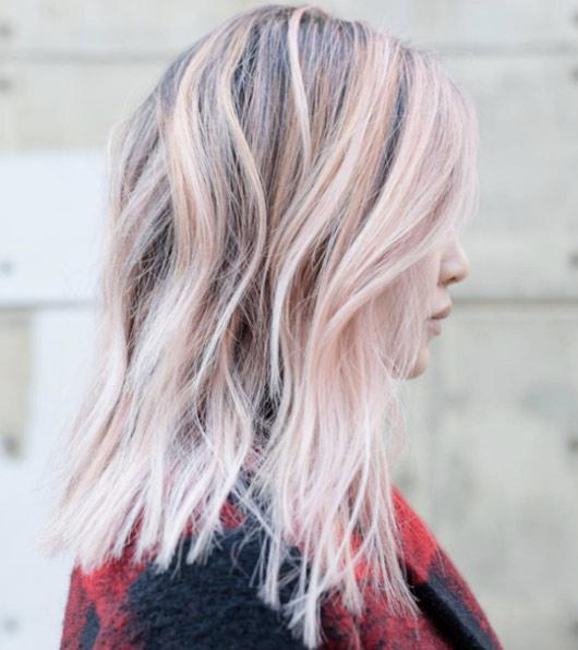 Цвет волос мелирование фото (9)