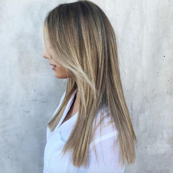 Цвет волос мелирование фото (3)