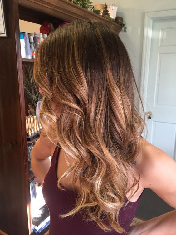Цвет волос мелирование фото (53)