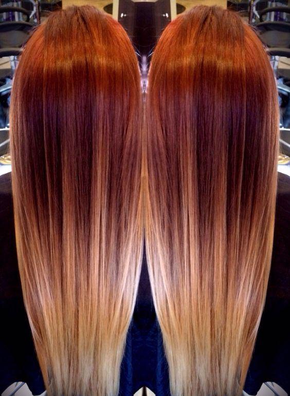 Окрашивание длинных волос 2018 (63)