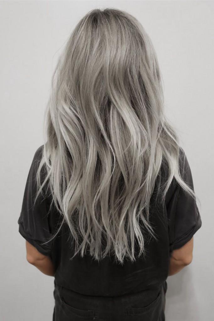 Окрашивание длинных волос 2018 (61)