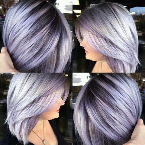 Седой цвет волос (52)