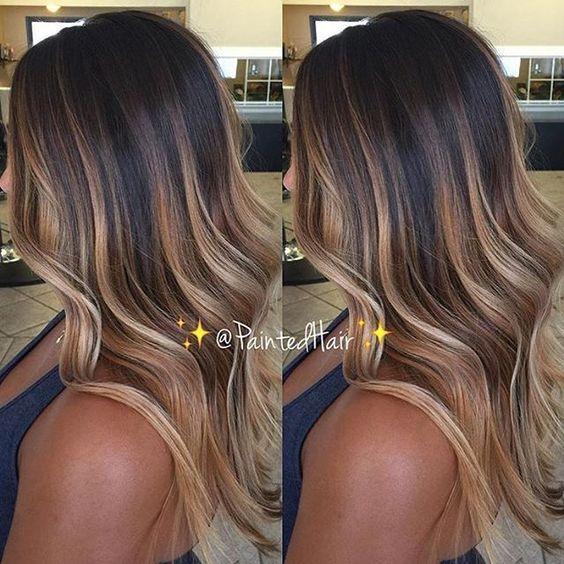 Окрашивание длинных волос 2018 (17)