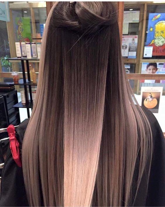 Окрашивание длинных волос 2018 (57)