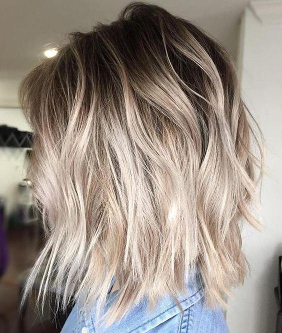 Цвет волос мелирование фото (32)
