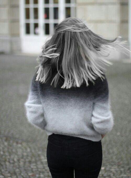 Седой цвет волос (46)