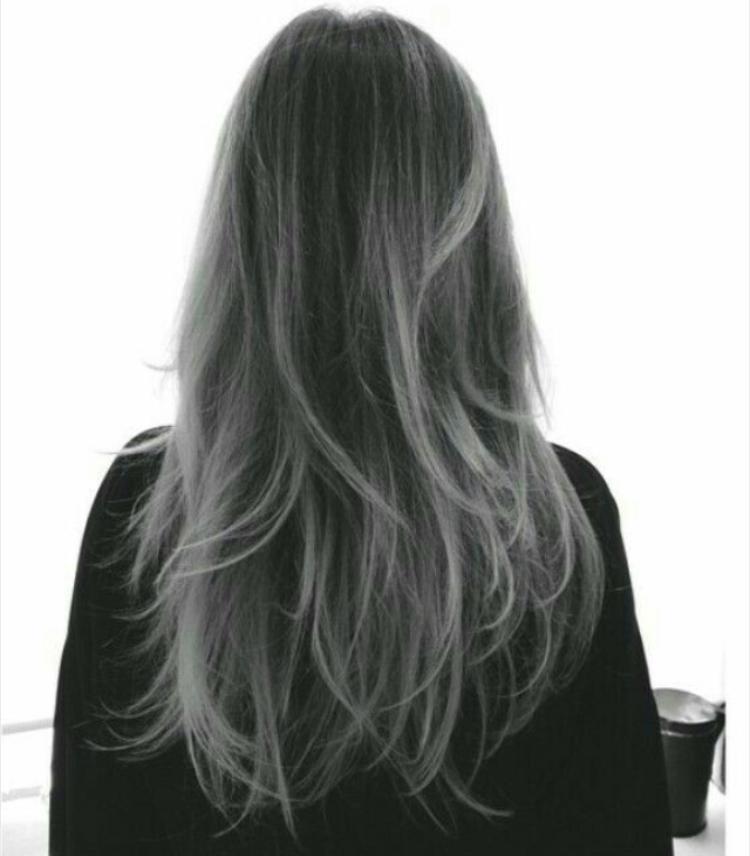 Седой цвет волос (31)