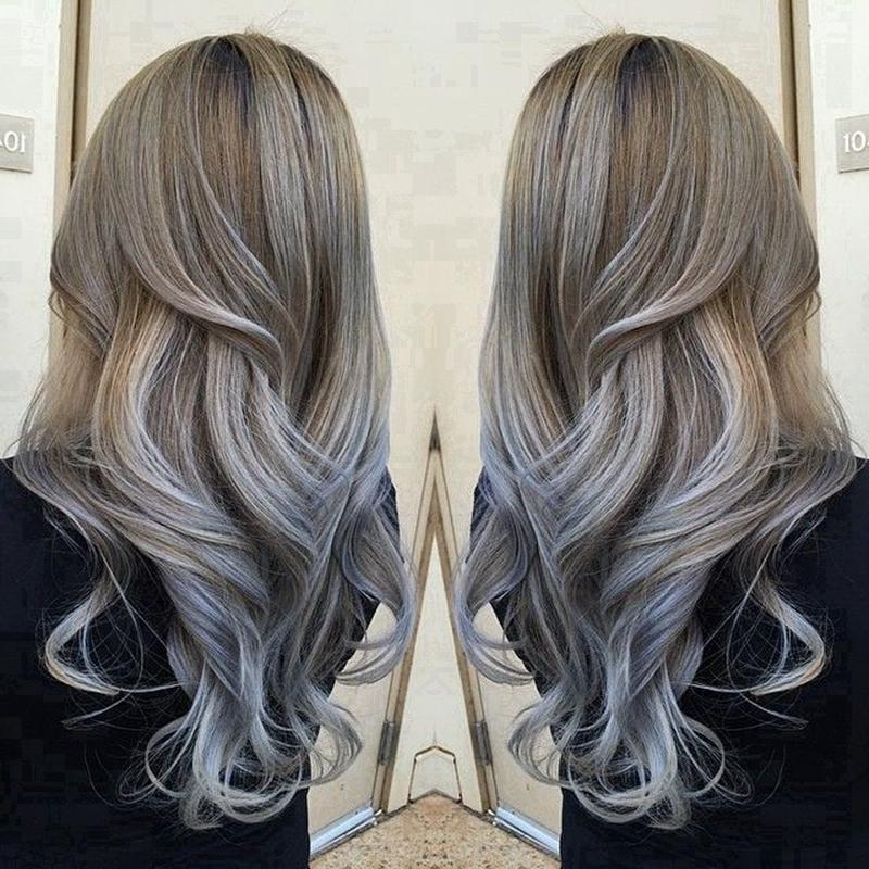 Натуральный пепельный цвет волос (22)
