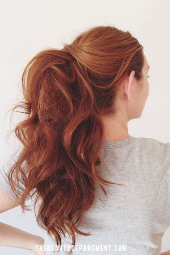 Натуральный рыжий цвет волос (11)